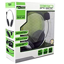 KMD Pro Gamer Headset with Mic-White, Xbox 360