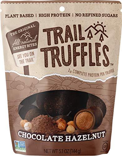 Trail Truffles - Paleo Plant Based Vegan Energy Bite Balls (Chocolate Hazelnut, 1 pack)
