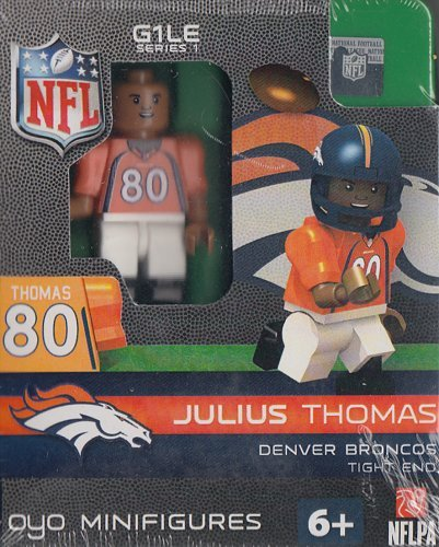 Denver Broncos NFL OYO Minifigure Julius Thomas
