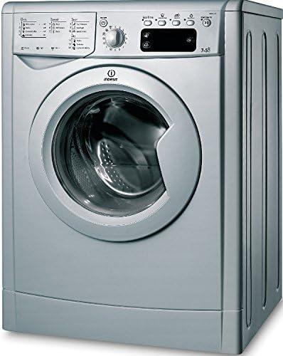 Indesit IWDE 7125 S lavadora Carga frontal Independiente Plata B ...