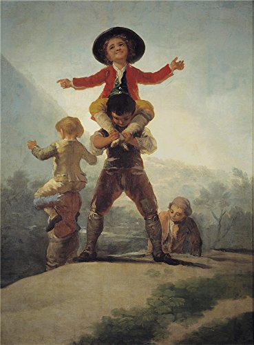 [The Polyster Canvas Of Oil Painting 'Goya Y Lucientes Francisco De Chicken Fights (Horse And Rider) 1805 ' ,size: 12 X 16 Inch / 30 X 41 Cm ,this Best Price Art Decorative Prints On Canvas Is Fit For Game Room Artwork And Home Decor And] (Cabbage Head Costume)