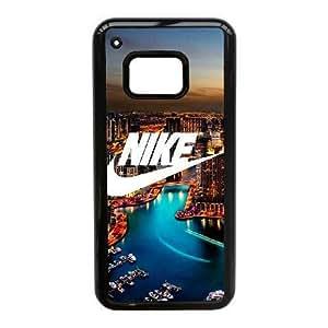 JiHuaiGu (TM) HTC One M9 funda Negro logotipo de Nike personalizado temático HTC One M9 funda Jl2215