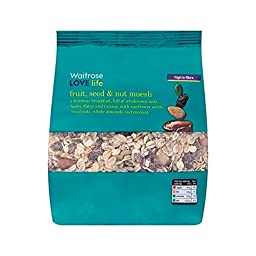 Muesli Fruit, Seed & Nut Waitrose Love Life 750g - Pack of 2