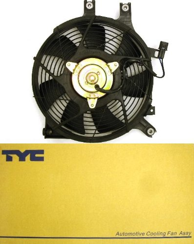 TYC 620880 Dodge Dakota Replacement Radiator/Condenser Cooling Fan Assembly