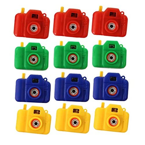 Pack Of 12 Plastic Cameras Clicking Camera With Animal Pictures