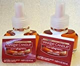 Yankee Candle Apple Pumpkin Scent-Plug Home Fragrance Refill Bottles Set of 2 Scent Plug Refills