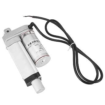 Actuador lineal Motor el/éctrico Actuador lineal 12V DC 250mm Carrera Motor de actuador lineal el/éctrico de carga de servicio pesado
