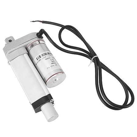 Actuador Lineal de 12v DC Actuador Motor Eléctrico Linear de Movimoiento de Elevador 50/100/150/250/300mm(50mm): Amazon.es: Bricolaje y herramientas