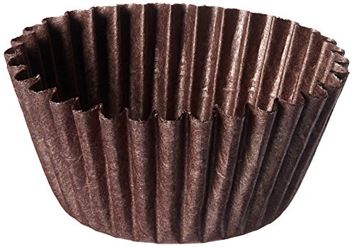 Bon Bon Baking Cups - Oasis Supply - Brown Candy Cups #4 - 250 Count for Candy, Bon-bons, and Truffles