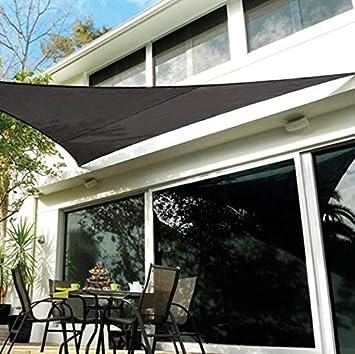 sun shade sail YXLZ Vela De Sombra, 3 * 4 * 5 M, Tela De Sombra Triangular ProteccióN UV 90% Vela De Sombra De JardíN Adecuada para PéRgola De Invernadero Al Aire Libre: Amazon.es: Hogar