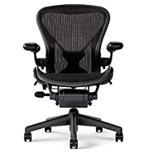 Herman Miller Aeron Chair Size B In Black With Posturefit OPEN BOX