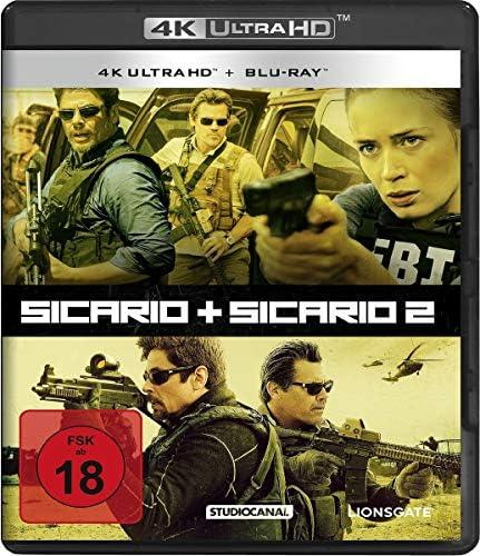 Sicario 1 2 2 4K UltraHd2 BluRayS