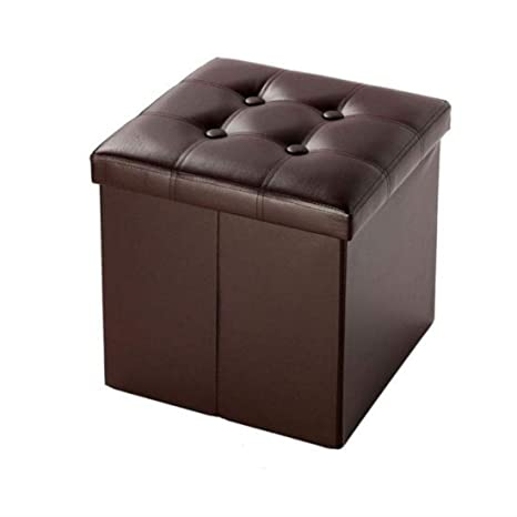Pleasing Amazon Com New Faux Leather Storage Footstool Sofa Ottoman Cjindustries Chair Design For Home Cjindustriesco