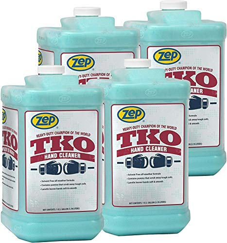 (Zep TKO Premium Hand Cleaner 128 oz (Case of 4) - Trusted by Pros - Read Our Reviews! )