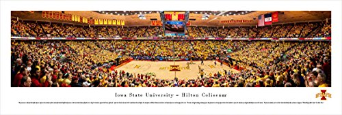 (Iowa State Basketball - Blakeway Panoramas Unframed College Sports Posters )