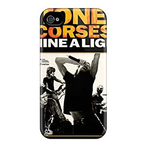 Iphone 4/4s ROu1058reUJ Unique Design Attractive Rolling Stones Series Scratch Resistant Hard Cell-phone Cases -IanJoeyPatricia
