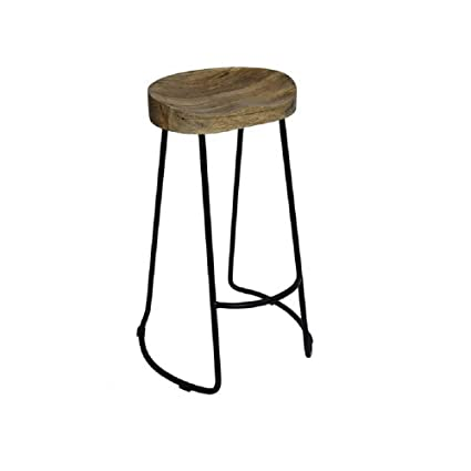 Tremendous Amazon Com Union Rustic Classy 29 5 Backless Saddle Bar Machost Co Dining Chair Design Ideas Machostcouk