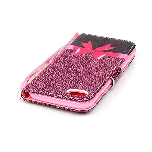 Apple iPhone 7Sac étui Cover Case de protection léopard style Multicolore decui Multicolore Housse en simili cuir