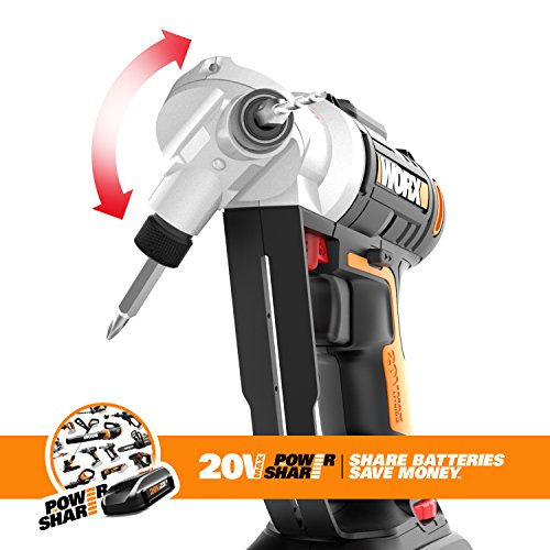 Worx Wx176l 20v Switchdriver 2 In 1 Cordless Drill And