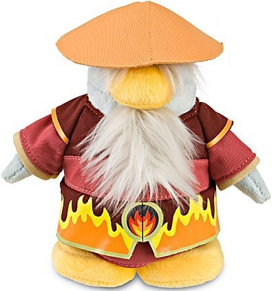Disney Club Penguin 6.5 Inch Series 11 Plush Figure Fire Sensei Includes Coin with Code! by Jakks Pacific