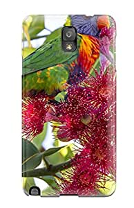 Best 7442056K42552365 TashaEliseSawyer Case Cover For Galaxy Note 3 - Retailer Packaging Rainbow Lorikeet Protective Case