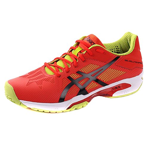Red Speed Gel Tennis Solution Shoes 3 Asics URqvwxY