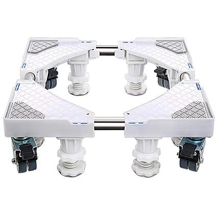 Ruedas Móvil Especial Base para Uso Doméstico Electrodomésticos Pedestal para Lavadora Ruedas De Rodillo Ruedas De