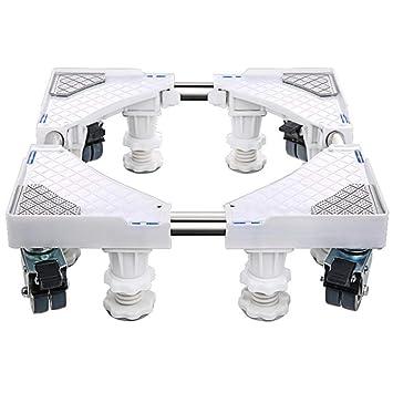 Ruedas Móvil Especial Base para Uso Doméstico Electrodomésticos Pedestal para Lavadora Ruedas De Rodillo Ruedas De Base para Frigoríficos Congelador ...