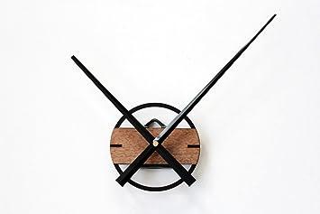 T FBW Wanduhren Wanduhr DIY Uhr Shell Retro Einfache Extra Große Zeiger  Wanduhr Bewegung Glocke