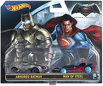Hot Wheels DC Universe Vehicles, Batman v Superman (2 pack) by Hot ...