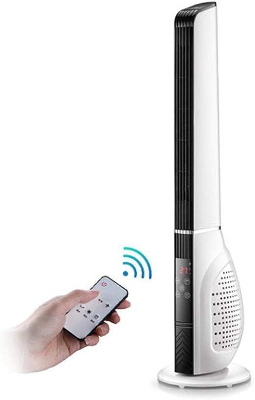 Tower fan-A Ventilador de Torre oscilante, Temporizador programable, 3 velocidades, Motor de 45 W, oscilación de 85º y Altura de 113 cm. Color Blanco: Amazon.es: Hogar