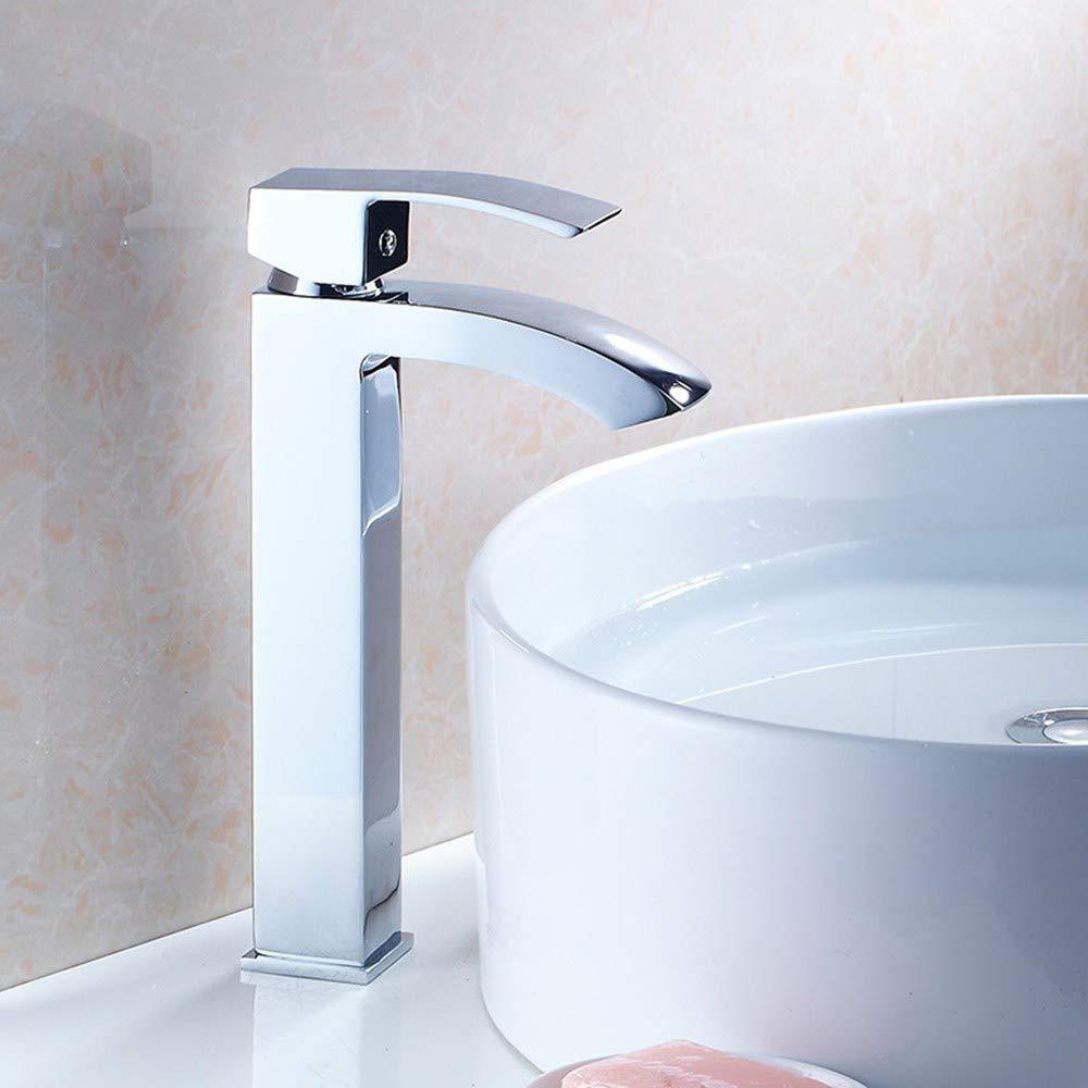 Cucsaist Wasserhahn Waschbecken Trowel Wasserhahn Bad Waschbecken Wasserhahn heißen und kalten Wasserhahn