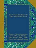 img - for The Personal Letters Of John Alexander Dowie book / textbook / text book