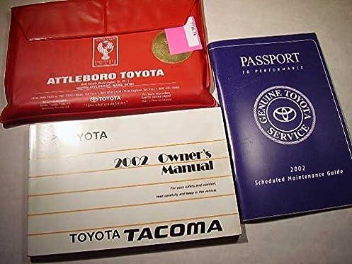 2002 toyota tacoma owners manual toyota amazon com books rh amazon com 2004 toyota tacoma service manual 2002 toyota tacoma service manule