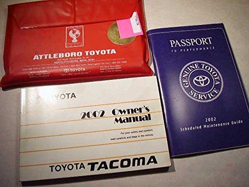 2002 Toyota Tacoma Owners Manual