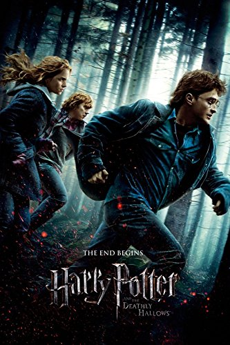 Harry Potter And The Deathly Hallows Part 1 Movie Posterprint Regular Style Size 24 Inches X 36 Inches