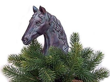 Amazon.com: Barto's Horse Christmas Tree Topper: Home & Kitchen