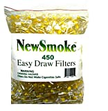 NEW SMOKE 450 Disposable Cigarette Filters Bulk
