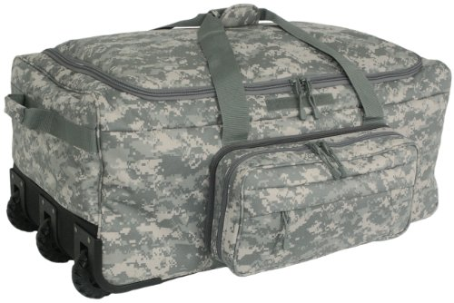 Mercury Tactical Gear Code Alpha Mini Monster Wheeled Deployment Bag, Digital Camouflage, Army Camoufalge