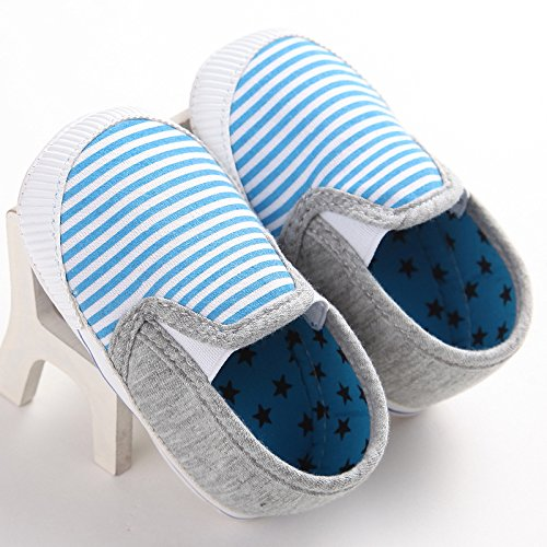 Fire Frog Baby Loafer Shoes - Zapatos primeros pasos para niño Azul