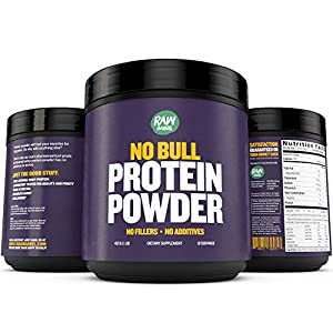 Raw Barrel's - Pure Natural Whey Protein Powder - Unflavored - SEE RESULTS OR YOUR MONEY BACK - 2lb - Instantized Concentrate Supplement - High Protein, Low Carb - With Free Guide