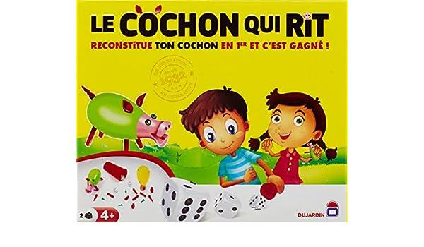 Dujardin - Cochon Qui Rit, juego infantil, 2 jugadores [Importado ...