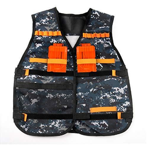 MISOWN Tactical Vest for Military Combat Training Field Operations Special Missions Lightweight Breathable Airsoft Vest Adjustable Sizes Men Women Kids