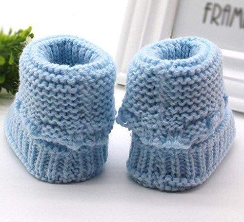Baby Sandalenchshe Häkeln Kleinkind Neugeborenen Spitzen Schuhe An