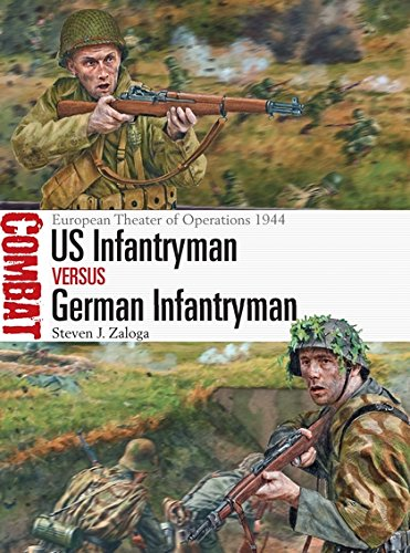 Read Online US Infantryman vs German Infantryman: European Theater of Operations 1944 (Combat) pdf epub