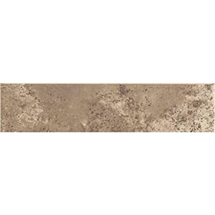Santa Barbara Pacific Sand 3 In X 12 In Ceramic Bullnose Floor And