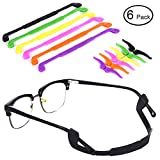 Anti-Slip Glasses Strap - 6 Colors Ablerv Eyewear Retainer for Kids & Adults Sport Eyeglass Strap Holder, Premium Grade Comfortable Silicone Glasses Ear Hook