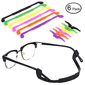 bf633c6e066 AblerV Anti-Slip Glasses Strap - 6 Colors Eyewear Retainer Kids   Adults Sport  Eyeglass