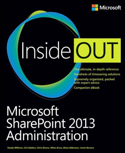 Microsoft® SharePoint® 2013 Administration Inside Out Pdf