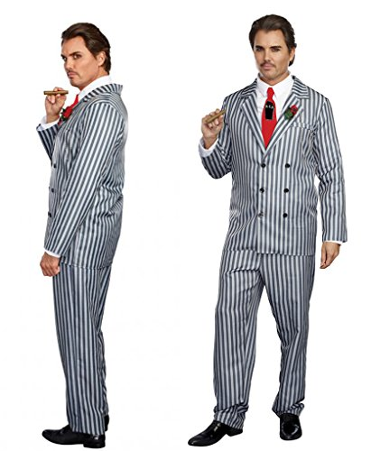 Gomez Costumes (Adult size Mr Fright Costume - Large 42-44 Inch Chest)